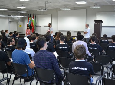 Novo ensino médio no SESI SENAI de Criciúma
