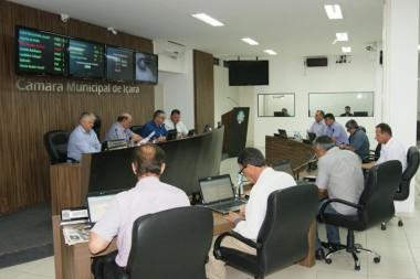 Resumo da sessão ordinária Câmara Municipal de Içara