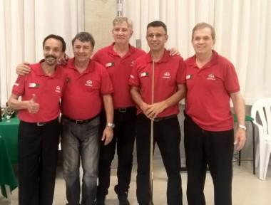 Mampituba fatura Campeonato Catarinense de Sinuca