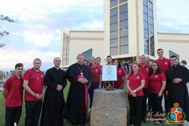 Visita Pastoral de Dom Jacinto coroa os 45 anos da Paróquia São Miguel