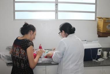 Muitas pessoas foram tomar a vacina contra a gripe