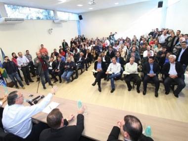 Colombo apresenta Fundam 2 para prefeitos do Planalto Norte