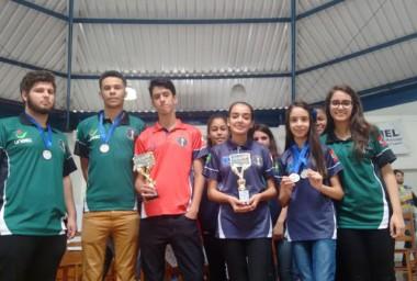 Equipe de Içara no Sul Brasileiro Juvenil de Xadrez