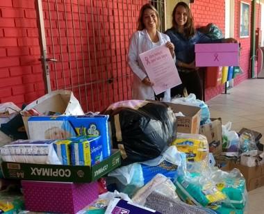 Campanha promovida pela Udesc arrecada quase mil donativos para Cepon