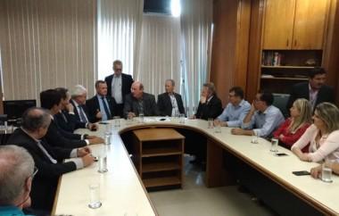 Suinocultores buscam apoio no Ministério da Agricultura