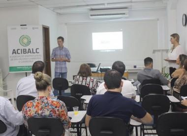Acibalc promove encontro de boas vindas entre novos associados