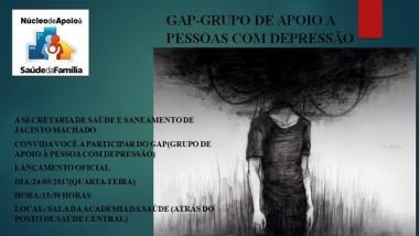 Grupo de apoio auxilia pessoas com depressão em Jacinto Machado