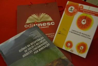 Inovação é tema dos novos lançamentos da Editora Unesc