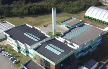 Painéis solares vão gerar energia no IFSC Criciúma