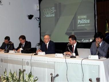 Colóquio Eleitoral abordou aspectos da Reforma Eleitoral