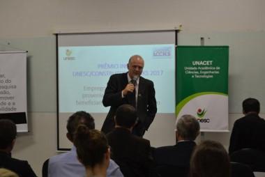 Unesc e Construtora Locks firmam parceria para realização do Inova