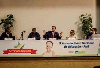 Plano Nacional de Educação é debatido em Seminário