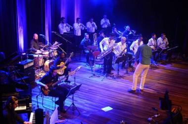Show da Joinville Jazz Big na festa de 40 anos do Museu de Art
