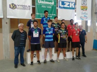 Criciúma é campeã do Circuito Catarinense de Tênis de Mesa