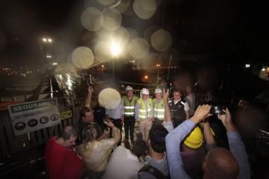 Transferência de carga da Ponte Hercílio Luz é concluída