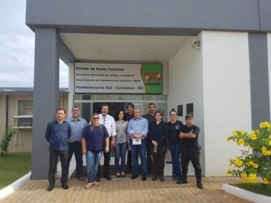 Comitiva de Tocantins visita Presídio Santa Augusta