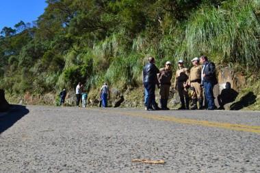 Serra do Rio do Rastro recebe serviços de manutenção