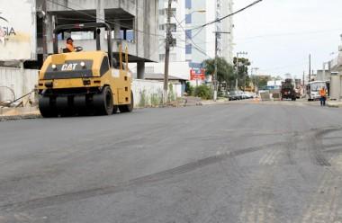 Rua Araranguá em Criciúma é reaberta neste domingo