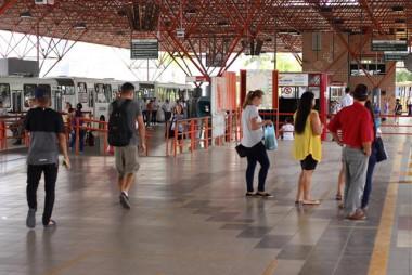 PM promove mais segurança nos terminais de Criciúma