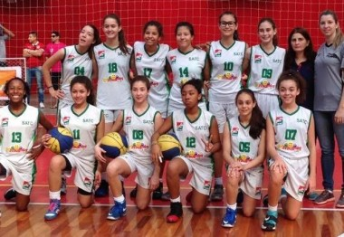 Basquete sub-13 da Satc está na final do Catarinense
