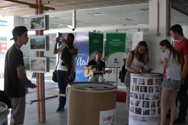 Geografia da Unesc promove exposição com ações