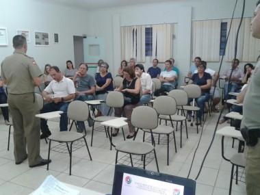 Polícia Militar de Araranguá realiza reunião