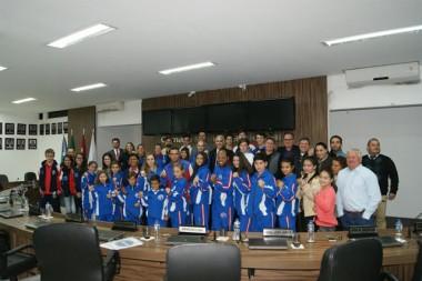 Projetos esportivos são apresentados aos vereadores de Içara