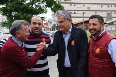 Faltando três dias para a eleição Moreira intensifica campanha