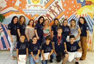Cinco alunos são premiados na Olimpíada Regional e Mirim