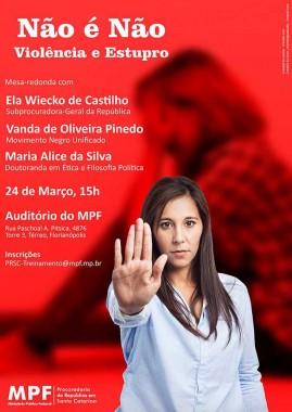 MPF/SC promove mesa-redonda sobre violência contra a mulher