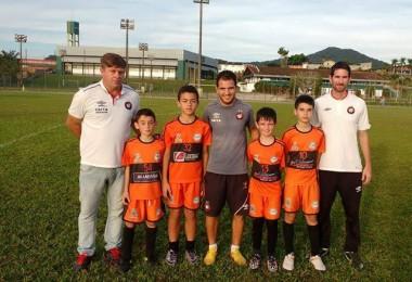 Atletas da DME Urussanga participam de avaliação técnica