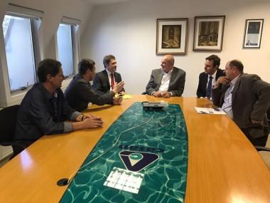 Vice-prefeito garante água tratada para Nova Veneza