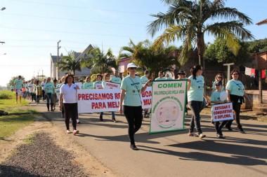 Prefeitura de Forquilhinha realiza Caminhada pela Vida