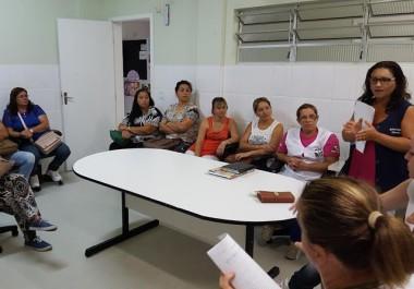 Agentes de saúde recebem capacitação sobre febre amarela
