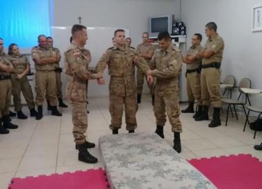 Mais PMs do 19º BPM recebem treinamento de armas não-letais