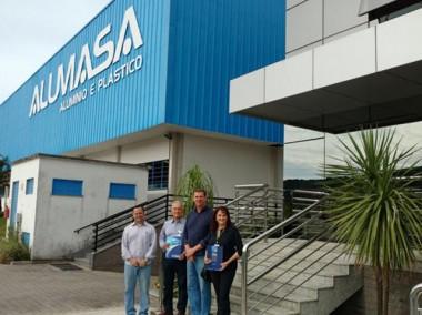 Vice-presidente regional Sul da Fiesc visita empresas da região
