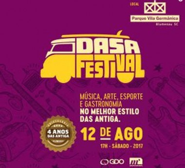 Projota, Raimundos, Dazaranha, Oh Jah Jah e Santograau fazem show dia 12
