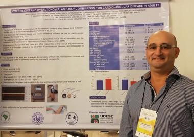 Professor da Udesc analisa relação de sobrepeso e hipertensão