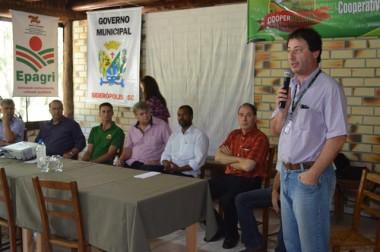 Cooperbelluno apresenta projetos do SC Rural em Siderópolis