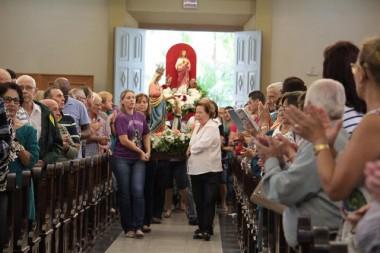 Imagens de Nossa Senhora e Sagrado Coração chegam à Catedral