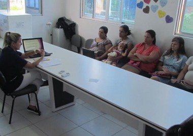 Grupo de gestantes em Jacinto Machado se reúne