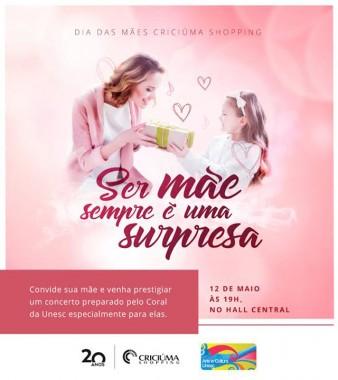 Dia das Mães será marcado por múltiplas atrações CS