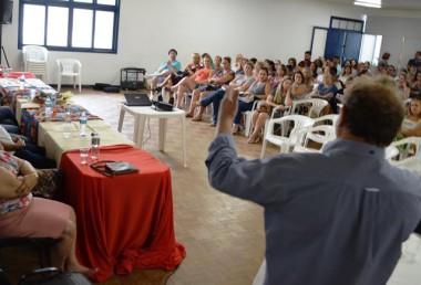 Professores de Siderópolis se reúnem para abertura do ano letivo