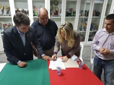 Hybel, Prefeitura de Criciúma e Larm oficializam parceria