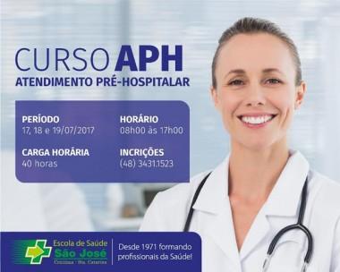Escola do São José oferece curso de Atendimento Pré-Hospitalar