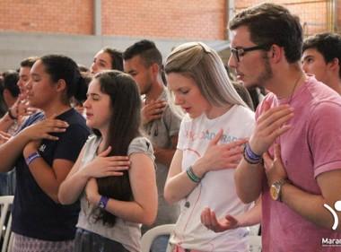 Maranathá reúne jovens de toda região em dias de espiritualidade
