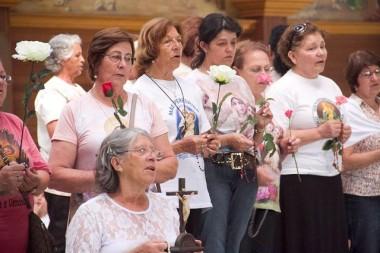 Terço dos Homens e Apostolado fazem peregrinação