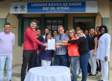 Autorizado início da construção da sede para a ESF Dr. Gyrão