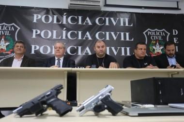 PC deflagra a maior ofensiva contra facção criminosa em SC