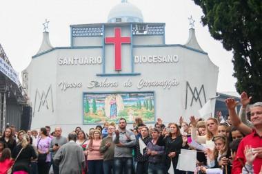 Santuário de Caravaggio inicia novena em preparação à 66ª Romaria
